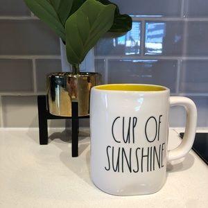 Rae Dunn NWT CUP OF SUNSHINE Ceramic Mug